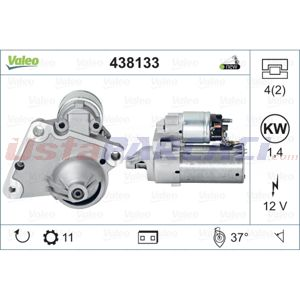 Peugeot 301 1.6 Bluehdi 100 2012-2020 Valeo Marş Motoru UP1470776 VALEO