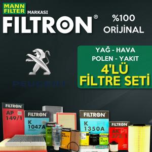 Peugeot 308 1.6 E-hdi Mann Filtron Filtre Bakım Seti 2014-2017 UP1539653 FILTRON