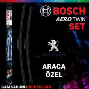 Peugeot 308 Ön Arka Silecek Takımı 2014-2017 Bosch Aerotwin-rear UP1539390 BOSCH