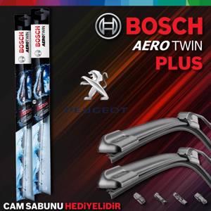 Peugeot Partner Ön Arka Silecek 2009-2016 Bosch Aerotwin Plus UP1539401 BOSCH