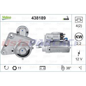 Peugeot Partner Tepee 1.6 Bluehdi 120 2008-2016 Valeo Marş Motoru UP1482302 VALEO