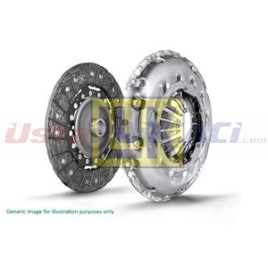 Renault Captur 1.2 Tce 120 2013-2020 Luk Debriyaj Seti Rulmansız UP1512343 LUK