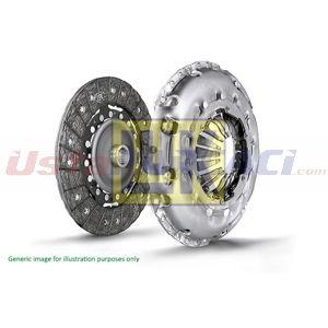 Renault Captur 1.5 Dci 110 2013-2020 Luk Debriyaj Seti Rulmansız UP1526195 LUK
