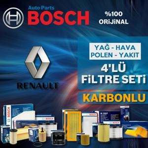 Renault Laguna 3 1.6 Bosch Filtre Bakım Seti 2008-2011 UP1313081 BOSCH