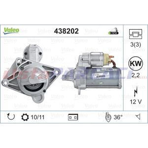 Renault Master Iii 2.3 Dci 130 Fwd 2010-2020 Valeo Marş Motoru UP1484887 VALEO