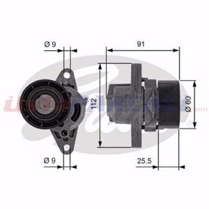 Renault Thalia I 1.4 16v 1998-2009 Gates Alternatör Gergi Rulmanı UP1490737 GATES