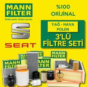 Seat Cordoba 1.4 Tdi Mann-filter Filtre Bakım Seti (2003-2009) UP468467 MANN