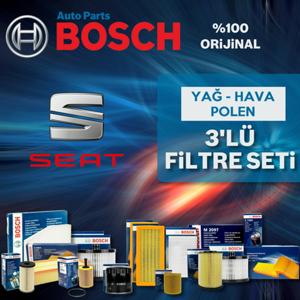 Seat İbiza 1.4 Bosch Filtre Bakım Seti 2002-2009 UP1312875 BOSCH