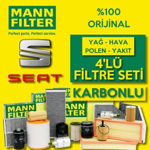 Seat Leon 1.6 Benzinli Mann Filtre Bakım Seti 2000-2005 UP1539550 MANN