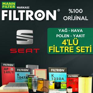 Seat Leon 1.6 Tdi Filtron Filtre Bakım Seti 2010-2012 UP1324650 FILTRON