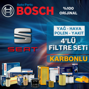 Seat Toledo 1.2 Tsi Bosch Filtre Bakım Seti 2012-2015 Cbz UP1313089 BOSCH