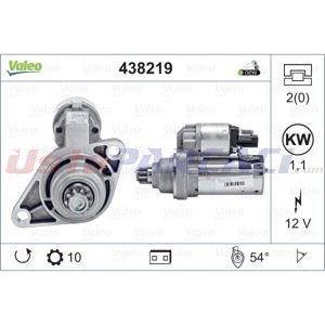 Skoda Octavia Ii 1.4 Tsi 2004-2013 Valeo Marş Motoru UP1496601 VALEO