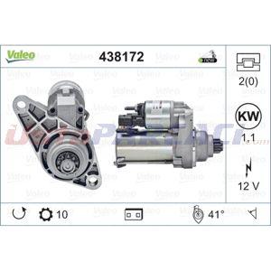Skoda Rapid Spaceback 1.2 2012-2020 Valeo Marş Motoru UP1509228 VALEO