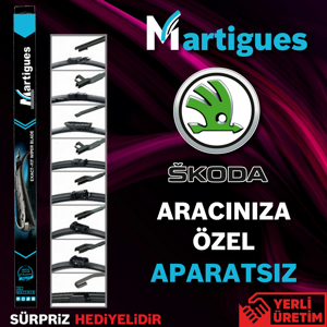 Skoda Superb Muz Silecek Takımı (2015-2017) UP433224 MARTIGUES