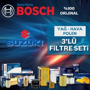 Suzuki Grand Vitara 1.9 Ddis Bosch Filtre Bakım Seti 2005-2010 UP1539927 BOSCH