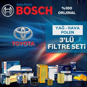 Toyota Auris 1.33 Bosch Filtre Bakım Seti (2009-2018) UP1156129 BOSCH