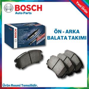 Toyota Corolla Auris Bosch Ön Arka Fren Balata Takımı 2013 - 2018 UP567516 BOSCH