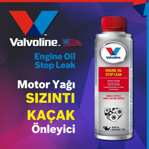 Valvoline Engine Oil Stop Leak V1 Motor Yağı Sızıntı Kaçak Önleyici 300ml UP1534969 VALVOLINE