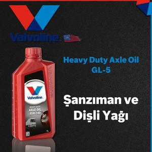 Valvoline Hd Axle Oil Gl-5 85w140 Şanzıman Ve Dişli Yağı 1 Litre UP1536230 VALVOLINE