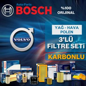 Volvo S40 1.6 Dizel Ve D2 Bosch Filtre Bakım Seti (2007-2012) UP1725452 BOSCH