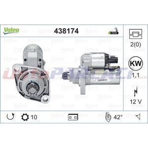 Vw Beetle 2.0 Tsi 2011-2016 Valeo Marş Motoru UP1420419 VALEO