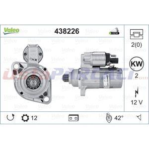 Vw Eos 2.0 Tdi 16v 2006-2015 Valeo Marş Motoru UP1449495 VALEO