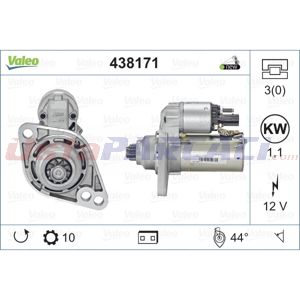 Vw Golf V 2.0 Fsi 4motion 2003-2009 Valeo Marş Motoru UP1496767 VALEO