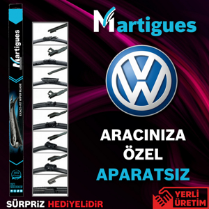 Vw Jetta Muz Silecek Takımı (2011-2017) UP433244 MARTIGUES