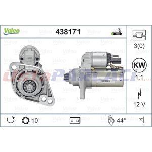 Vw Passat 1.4 Tsi Multifuel 2010-2014 Valeo Marş Motoru UP1503905 VALEO
