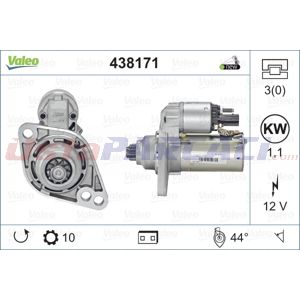 Vw Passat Variant 1.4 Tsi 2010-2015 Valeo Marş Motoru UP1501926 VALEO