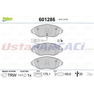 Vw Passat Variant 1.6 Tdi 2010-2015 Valeo Ön Fren Balatası UP1438080 VALEO