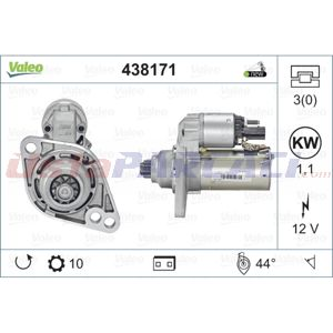 Vw Polo 1.8 Gti Cup Edition 2001-2009 Valeo Marş Motoru UP1501223 VALEO