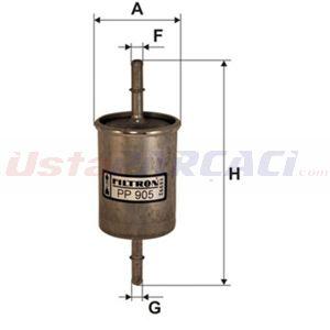 Vw Polo 120 1.6 16v Gti 1994-1999 Filtron Benzin Filtresi UP1393096 FILTRON