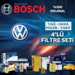 Vw Polo Ahw 1.4 16v Bosch Filtre Seti 1999-2001 UP1539581 BOSCH