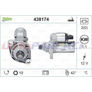 Vw Tiguan 2.0 Tsi 4motion 2007-2018 Valeo Marş Motoru UP1422164 VALEO