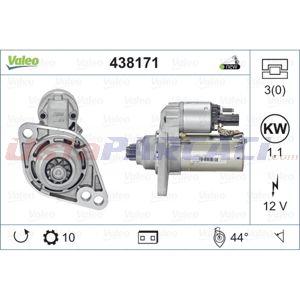 Vw Touran 1.4 Fsi 2003-2010 Valeo Marş Motoru UP1497412 VALEO