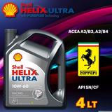 Shell Helix Ultra Racing 10w-60 4 Litre Motor Yağı Üt.2019 UP619438 SHELL