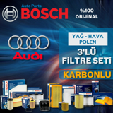 Audi A3 1.6 Fsi Bosch Filtre Bakım Seti 2004-2007 UP583168 BOSCH