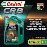 Castrol Crb Mini Truck 10w30 Ch-4 Sentetik Motor Yağı 7 Litre Ü.t.07/2019 UP1534780 CASTROL