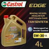 Castrol Edge 5w-30 Ll 4 Lt Motor Yağı Ü.t Eylül/2019 UP13127811 CASTROL