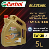 Castrol Edge 5w-30 Ll 5 Litre Dpf