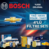 Chevrolet Kalos 1.2 Bosch Filtre Bakım Seti 2005-2008 UP1312938 BOSCH