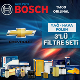 Chevrolet Kalos 1.4 Bosch Filtre Bakım Seti 2005-2008 UP583087 BOSCH
