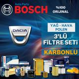 Dacia Sandero 1.5 Dci Bosch Filtre Bakım Seti  2012-2018 UP1539609 BOSCH