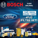 Ford Fiesta 1.6 Bosch Filtre Bakım Seti 2002-2008 UP1312971 BOSCH