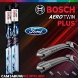 Ford Fiesta Ön Arka Silecek Takımı 2008-2017 Bosch Aerotwin Plus UP1539374 BOSCH