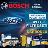 Ford Focus 1.6 Tdcı Bosch Filtre Bakım Seti E5 2011-2015 UP1313048 BOSCH