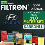 Hyundai Ix35 1.6 Mann Filtron Filtre Bakım Seti 2010-sonrası UP1539731 FILTRON