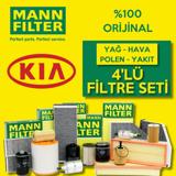 Kia Rio 1.5 Crdi Mann-filter Filtre Bakım Seti 2005-2011 UP1319614 MANN