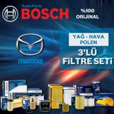 Mazda 3 1.6 Bosch Filtre Bakım Seti 2009-2013 UP1539571 BOSCH